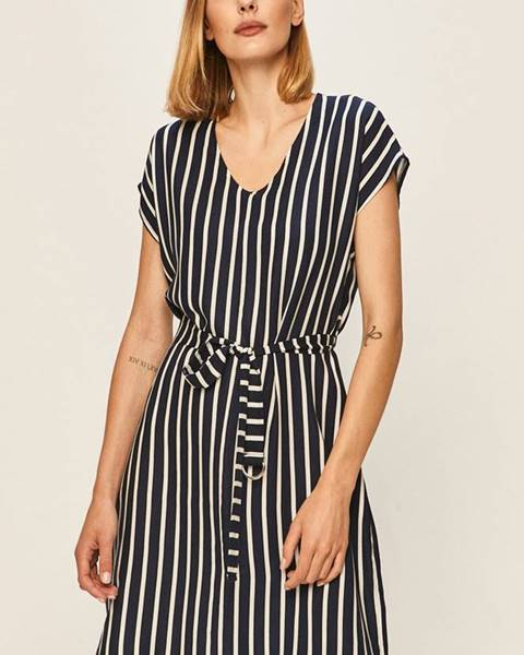 Tmavomodré šaty Answear