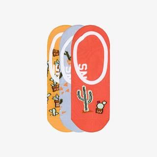 Vans Ponožky 3 páry Žltá Šedá Oranžová