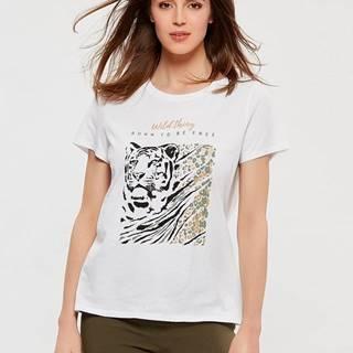 Biele tričko M&Co