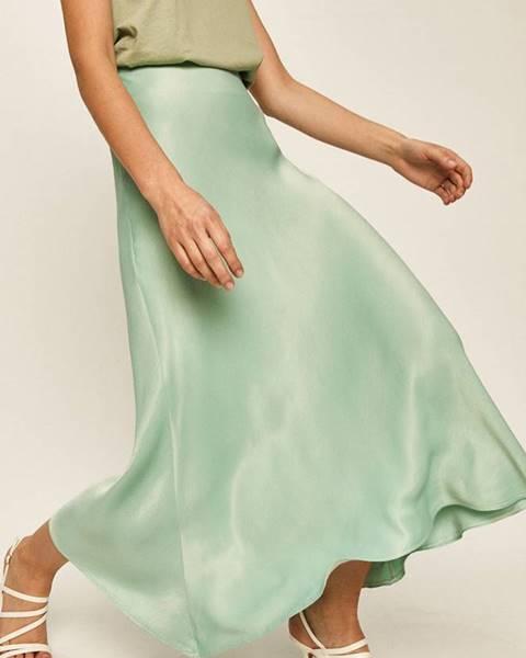Tyrkysová sukňa Answear