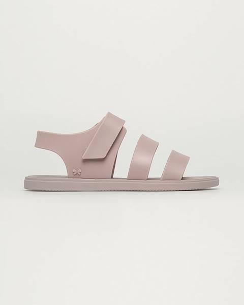 Béžové sandále Zaxy