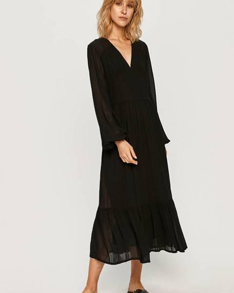 Čierne šaty Pepe jeans