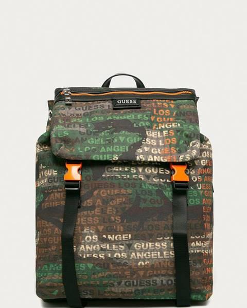 Zelený batoh Guess Jeans