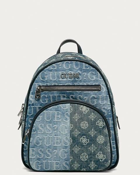 Modrý batoh Guess Jeans