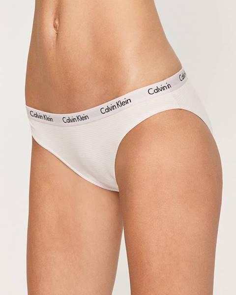 Biele nohavičky Calvin Klein Underwear