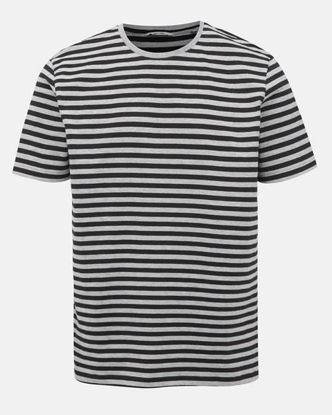 Sivé tričko ONLY & SONS