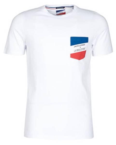 Biele tričko Jack   Jones