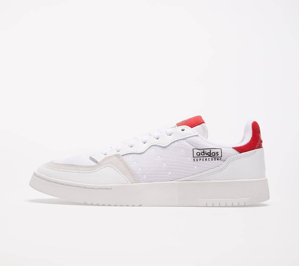 adidas Originals adidas Supercourt Ftw White/ Ftw White/ Scarlet