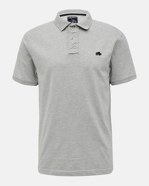 Sivé tričko Raging Bull